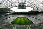 Fotbalová Alianz Arena v Mnichově.