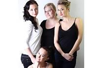 kadernice - Vladislava Tlachová a její modelky.