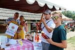 16. ročník Dne medu a medoviny, pořádaný o předposlední srpnové sobotě v Archeoskanzenu Modrá.