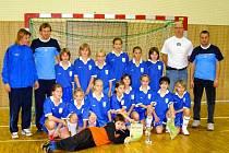 Mladší žákyně Slovácka vyhrály halový turnaj v Hodoníně.