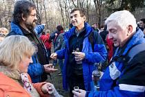 Pořadateli silvestrovského setkání na Pepčíně jsou obce Veletiny, Vlčnov, Drslavice, Havřice a Uh. Brod.