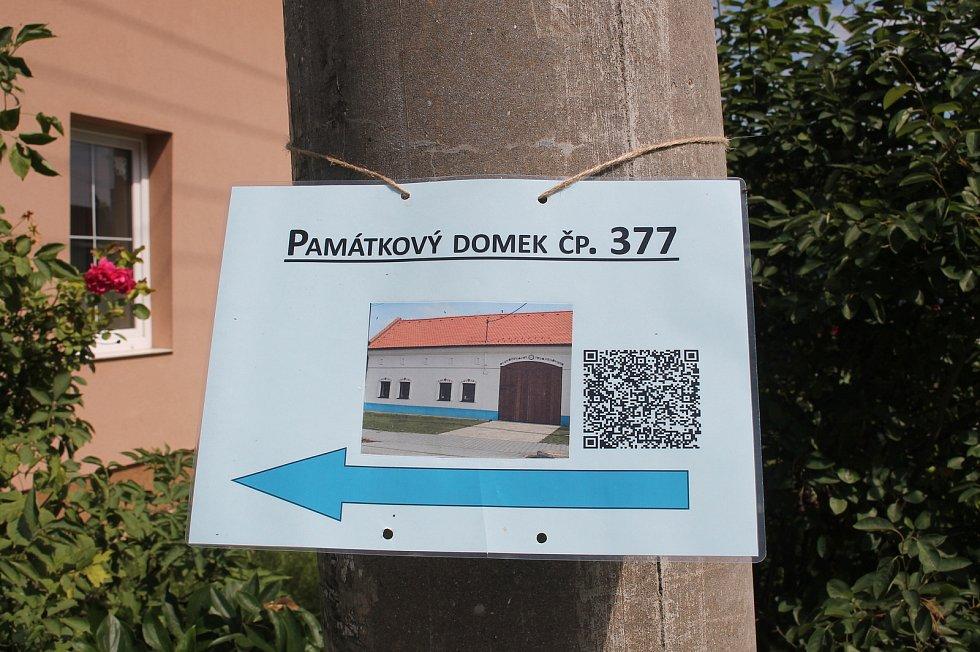 Otevření památných domků na Slovácku 27. - 28.6. 2020.Památkový domek č.p. 377 Ostrožská Nová Ves.
