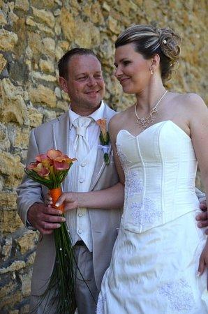 Soutěžní svatební pár číslo 44 - Lucie a Michal Fišerovi, Beňov.