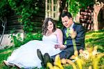 Soutěžní svatební pár číslo 78   –  Kateřina a David Stržínkovi, Vsetín