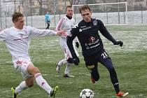 1. FC Slovácko - Třinec 2:2 (Slovácko ve tmavém). Milan Kerbr.