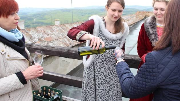 Den vína na Buchlově. Ilustrační foto