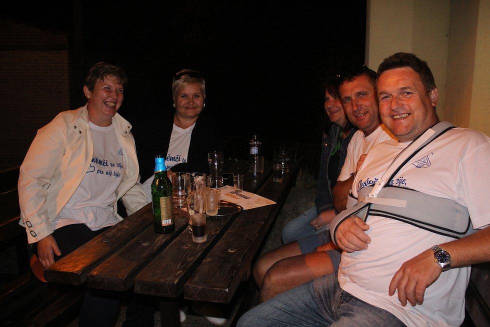 Oslavy vítězství v soutěži Vesnice roku 2018, trvaly v Dolním Němčí dlouho do noci.