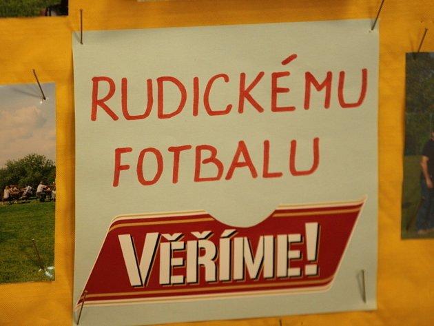 Fotbal TJ Sokol Rudice.