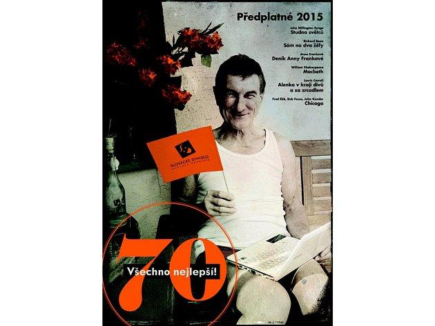 Předplatné Slováckého divadla pro rok 2015.