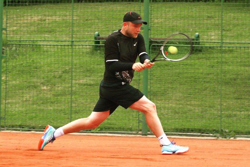 Nový trenér Tenisové akademie Slovácko Lukáš Gorecký