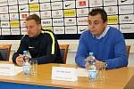 Cílem fotbalistů Slovácka i i přes povedený konec podzimu zůstává záchrana ve FORTUNA:LIZE. Na snímku Martin Svědík.