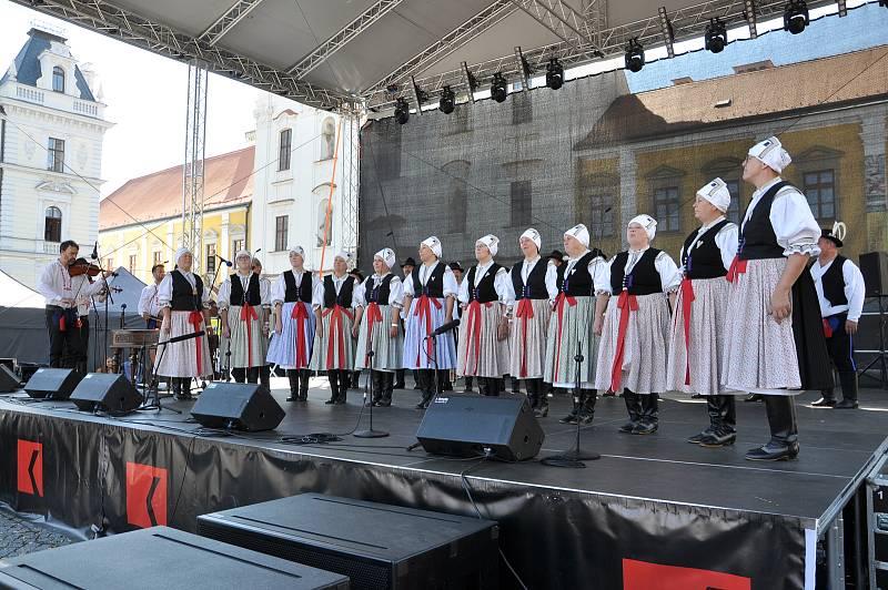 Slovácké slavnosti vína a otevřených památek v Uherském Hradišti.
