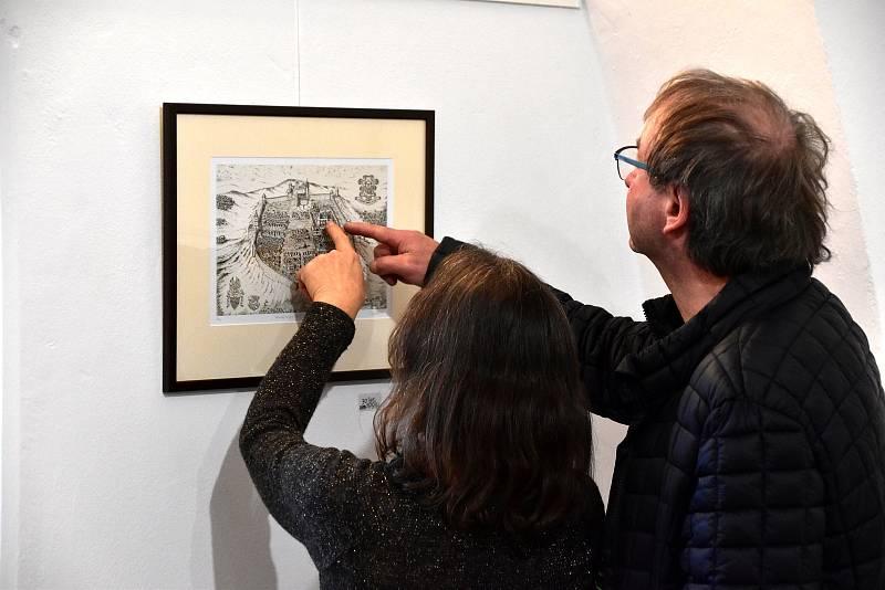 Výstava k 30. výročí založení Sdružení výtvarných umělců moravsko - slovenského pomezí v Uherském Brodě