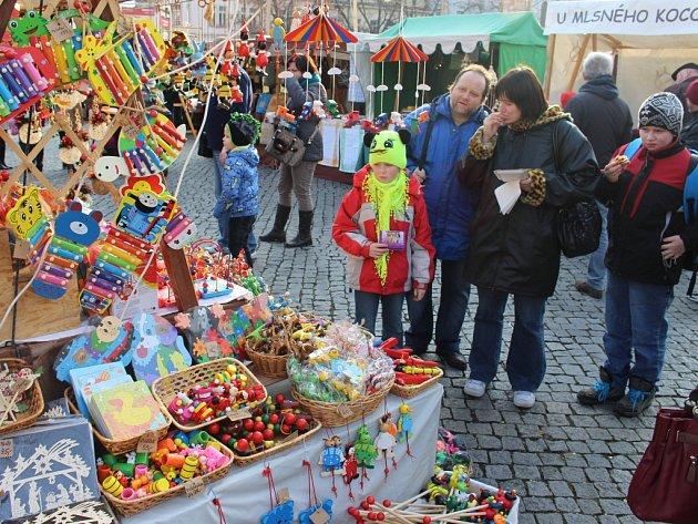 V Uherském Hradišti začal v sobotu 13. prosince vánoční jarmark