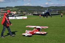 V Bojkovicích byla k vidění malá i velká letadla.