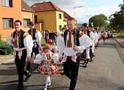 Vsoukolí kolotoče hodové tradice na Slovácku se o víkendu ocitly i Polešovice.
