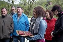 Spozlaceným klíčem byly na Salaši otevřeny brány lesa Chřibů.
