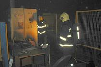 Požár ve Starém Hrozenkově