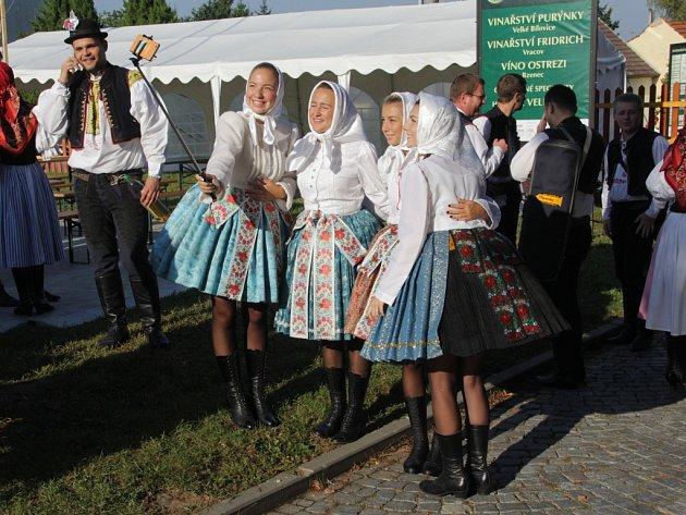 Slavnosti vína vUherském Hradišti, 2016.