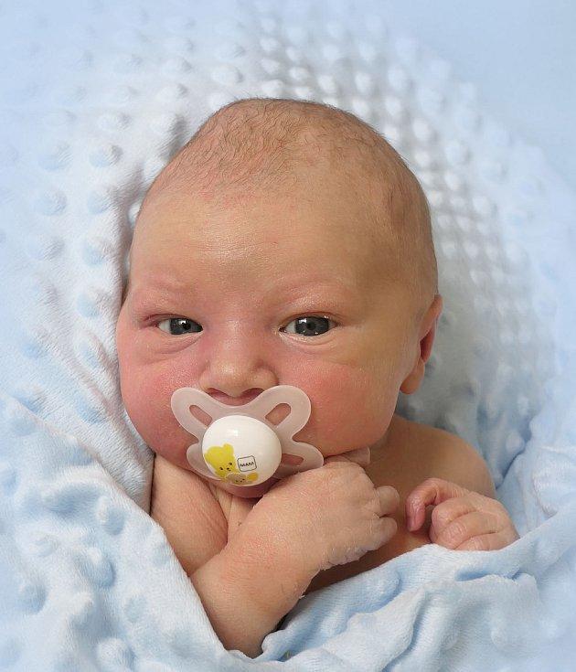 Dominik Vaculík, Bílovice, narozen 13. dubna 2021 v Uherském Hradišti, míra 52 cm, váha 3280 g