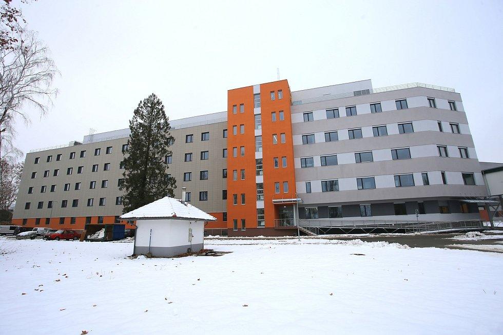 Nová budova interny v nemocnici v Uherském Hradišti.