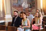 Ministr zahraničí Lubomír Zaorálek besedoval na filmovce.