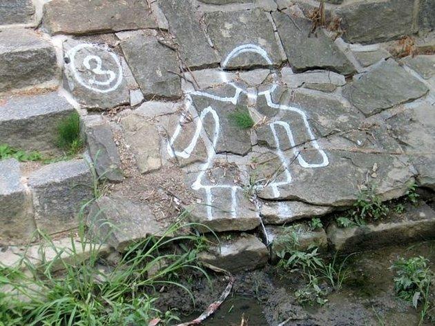 Boršice u Blatnice Opilý Cyklista spadl do potoku