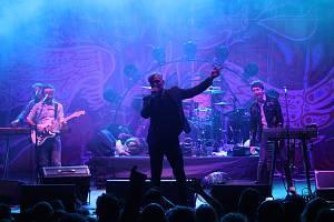 MIG 21 vystoupil v Buchlovicích na Buchlovském hudebním festivalu.