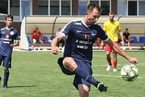 Fotbalisté Slovácka B. Ilustrační foto