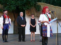 Folklorní festival ve Strážnici. Ilustrační foto