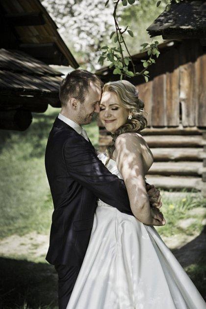 Soutěžní svatební pár číslo 123 - Vanda a Dominik Mischingerovi, Rožnov pod Radhoštěm