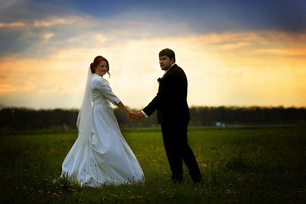 Soutěžní svatební pár číslo 94 - Monika a Jan Vidlařovi, Hlubočky