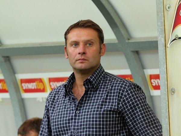Trenér 1.FC Slovácko Svatopluk Habanec.