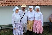 Na svatojakubské hody ve Vlčnově opět rozezněly areál Vlčnovských búd zpěvné hlasy folklorních sborů.