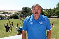 Kluci a holky museli ve finále absolvovat na velehradském hřišti sedm fotbalových disciplín.