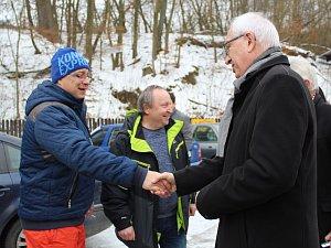 V sobotu 20. ledna přijel kandidát na prezidenta Jiří Drahoš na Slovácko.