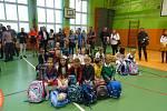 ZŠ Sportovní ve školním roce 2020/2021 bude navštěvovat celkem 653 žáků. Otvírá 3 první třídy s celkovým počtem 63 žáků. Na snímku 1. C třídní učitelky Hany Hochelové.