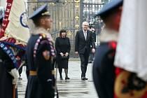 Inaugurace Miloše Zemana, Pražský hrad, 8. března 2013.