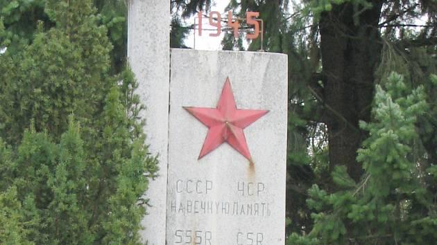 Pomník v Nedachlebicích.