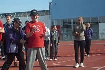 Děti ze speciálních škol se v Uherském Hradišti utkaly v několika sportovních disciplínách.