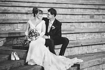 Soutěžní svatební pár číslo  27 – Gabriela a Jan Raškovi, Bohuňovice