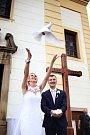 Soutěžní svatební pár číslo 78 - Magda a Libor Sasínovi, Zlín