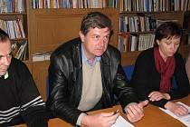 Budoucí starosta Vladimír Hanák.