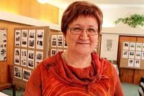 Kronikářka Huštěnovic Alena Bazalová.