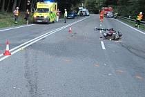 Obě nehody se staly na jednom místě v Buchlovských horách.