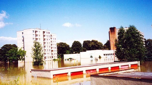 Stará Tenice, Uherské Hradiště 12. července 1997.