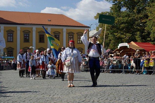 Slovácké slavnosti vína 2012 - Březová.