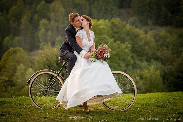 Soutěžní svatební pár číslo 154 - Magdaléna a Vojtěch Kovaříkovi, Chvalčov