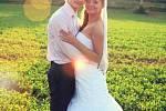 Soutěžní svatební pár číslo 169 - Bohdana a Stanislav Bartkovi z Nivnice