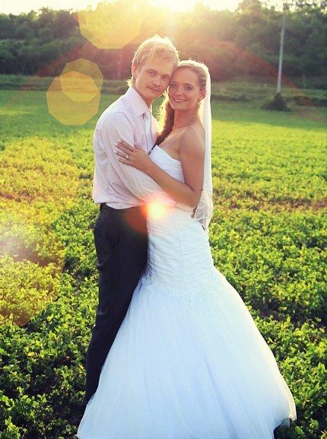 Soutěžní svatební pár číslo 169 - Bohdana a Stanislav Bartkovi zNivnice